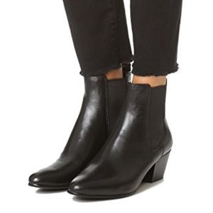 NEW Sam Edelman Leather Chelsea Boots Size 7